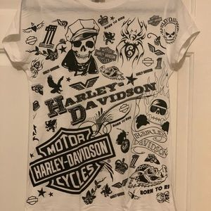 Harley Davidson T-Shirt from Madrid, Spain